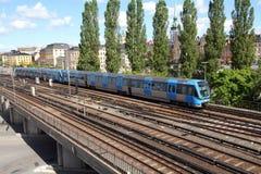 地铁斯德哥尔摩 免版税库存照片