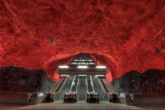 地铁斯德哥尔摩 免版税库存图片