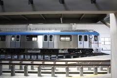 地铁火车站 免版税库存照片