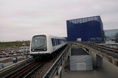 地铁电车公共交通 免版税图库摄影
