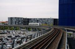地铁电车公共交通 库存照片