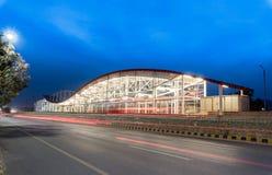 地铁站乐团伊斯兰堡巴基斯坦 免版税图库摄影