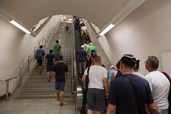 地铁站乐团在雅典,希腊 图库摄影