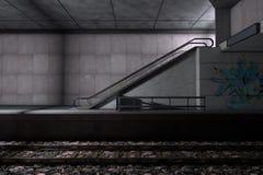 地铁站乐团 图库摄影