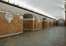 地铁站乐团 库存照片