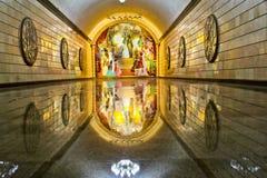 地铁站内部在阿尔玛蒂哈萨克斯坦 库存图片