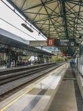 地铁站在麦德林哥伦比亚 免版税图库摄影