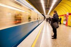 地铁站 免版税库存图片