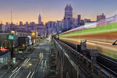 地铁纽约 免版税库存照片