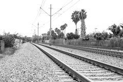 地铁跟踪坎顿 免版税库存照片