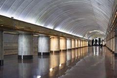 地铁车站在乌克兰 免版税图库摄影