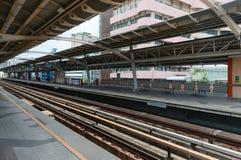 地铁车站在现代城市 图库摄影