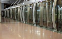 地铁车站巴黎 图库摄影