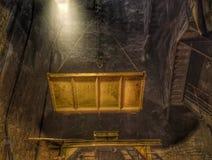 地铁隧道建造场所13 免版税库存照片