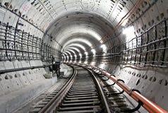 地铁隧道NYC 基辅,乌克兰 Kyiv,乌克兰 库存图片