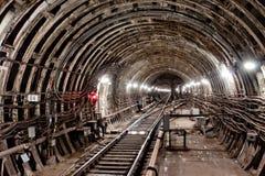 地铁隧道NYC 基辅,乌克兰 Kyiv,乌克兰 免版税库存图片