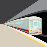 地铁高速运输 免版税库存照片