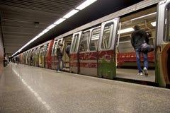 地铁 库存图片