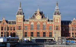 驻地阿姆斯特丹Centraal 免版税图库摄影