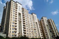 地震发生公寓 免版税库存图片