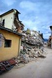 地震意大利 免版税库存照片