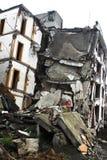 地震损伤站点 库存照片