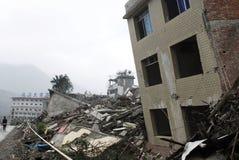 地震损伤站点 免版税库存图片