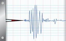 地震检波器 库存图片