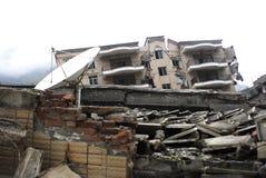 地震灾害 免版税图库摄影
