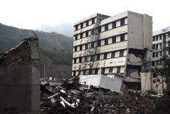 地震灾害 免版税库存图片