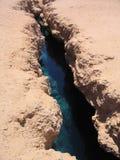 地震裂痕 库存图片