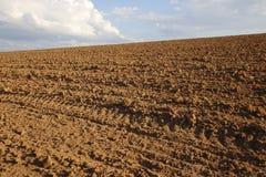 地面准备好种植 免版税库存图片