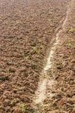 地面土壤耕种 免版税库存图片