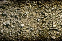 地面在火星,土地纹理,沙子表面,石背景喜欢 免版税库存照片