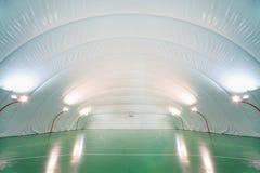 地面室内人体育运动培训 库存图片