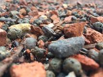 地面岩石 库存照片