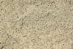地面沙子纹理 免版税库存照片
