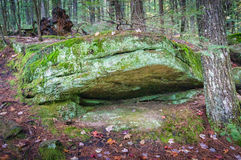 地面的巨石城 图库摄影