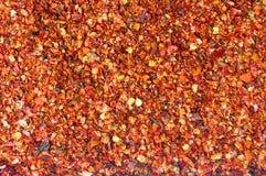 地面红辣椒背景样式 免版税图库摄影