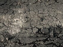 地面破裂 免版税库存图片