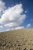 地面skyscape 图库摄影