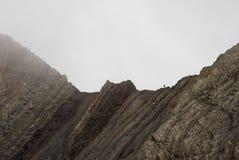 地质折叠 免版税库存照片