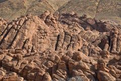 地质结构Dades谷,摩洛哥 库存图片