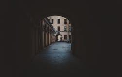 围场圣彼德堡,曲拱 免版税库存照片