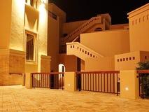 围场塔拉海湾在晚上 免版税库存图片