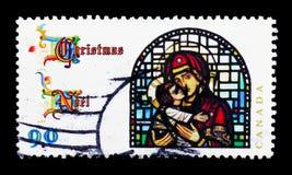 场面从保佑的Virgin的生活, Christmas (1997), Sta 图库摄影