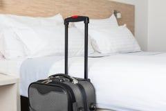 场面在旅馆客房 免版税库存照片
