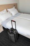 场面在旅馆客房 免版税库存图片