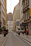 场面在维也纳,奥地利 免版税库存照片