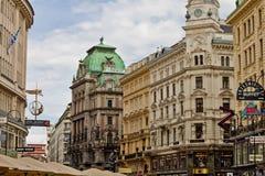 场面在维也纳,奥地利 免版税库存图片
